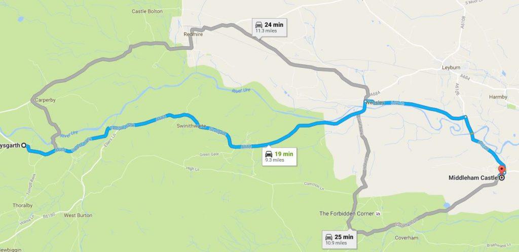 middleham-map